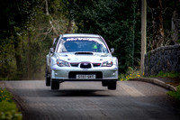Paddy McVeigh and Gary McElhinney claimed 5th spot overall in their Subaru Impreza WRC.